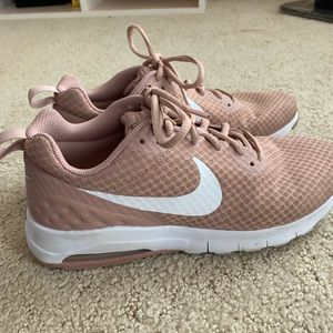 pink Nike air tennis shoes